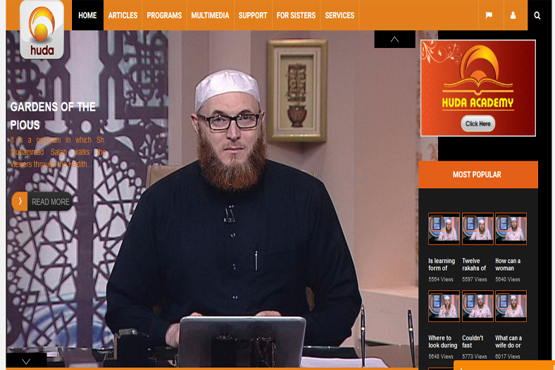 Huda Tv Channel Website